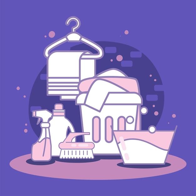 용품 세탁 서비스