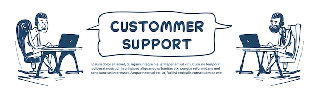 Support center headset agent