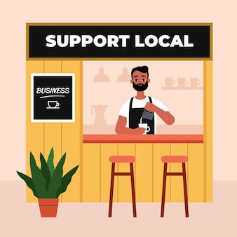 Supportare il concetto di business locale