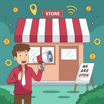 Supportare il concetto di business locale