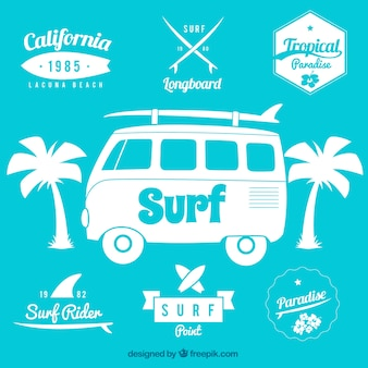 Surf значки