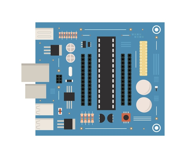 Surface mount technology printed circuit board