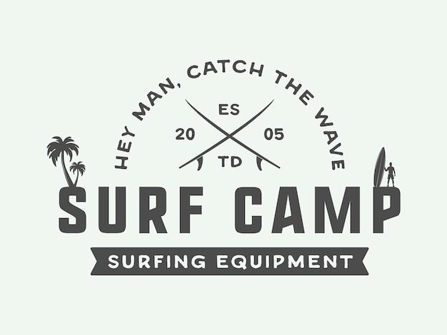 Логотип, эмблема серфинга