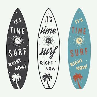 Surfing logos