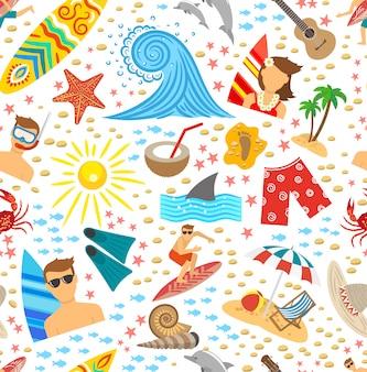 서핑 원활한 패턴