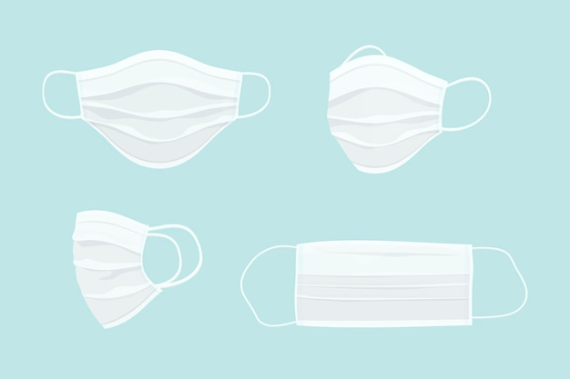 Набор хирургических масок для лица