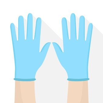 Surgical protective gloves design