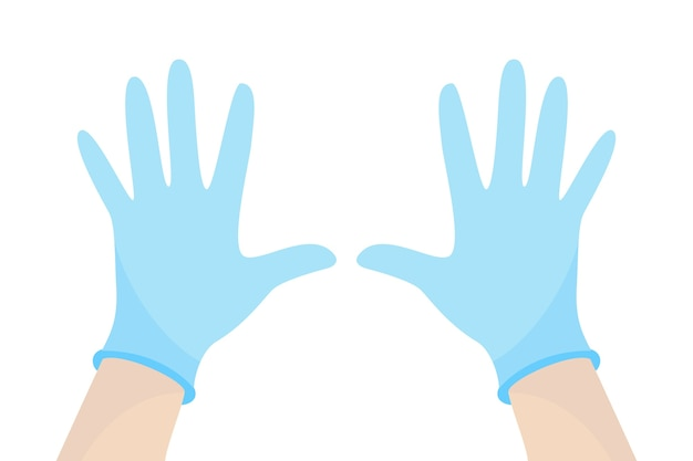 Surgical protective gloves style