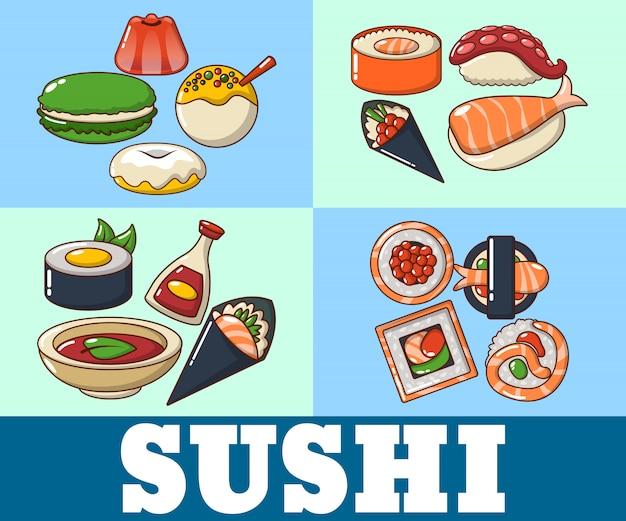 Sushi concept banner