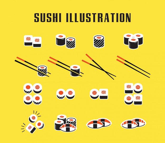 寿司のアイコンを設定
