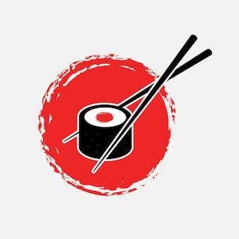 Суши япония логотип
