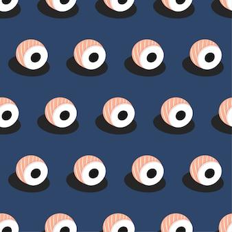 스시 원활한 패턴