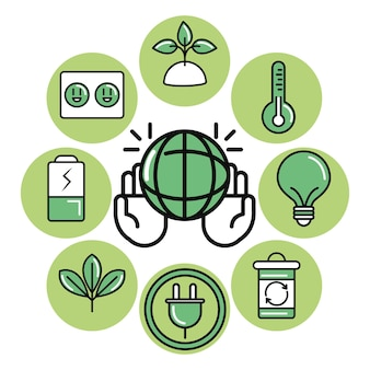 Устойчивые и экологические символы