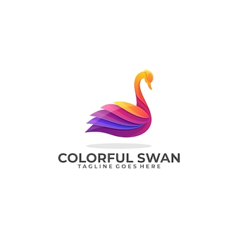 Swan colorful industry template