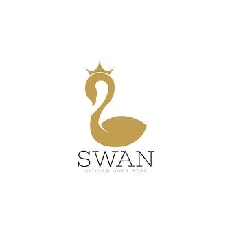 白鳥のロゴ