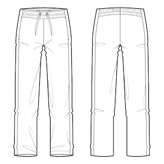 Sweat Pants Vectors, Photos and PSD files | Free Download