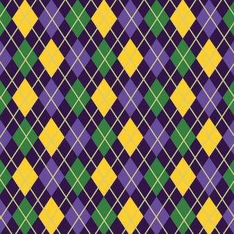 Sweater diamond background pattern