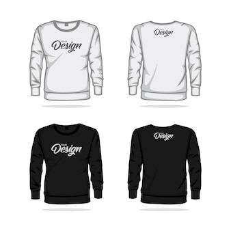 Sweater jacket template