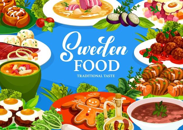 Sweden cuisine gravlax