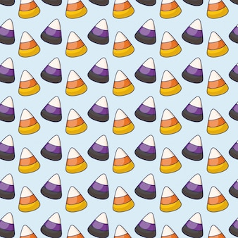 Sweet candies icons pattern