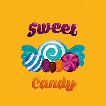 달콤한 사탕 배경