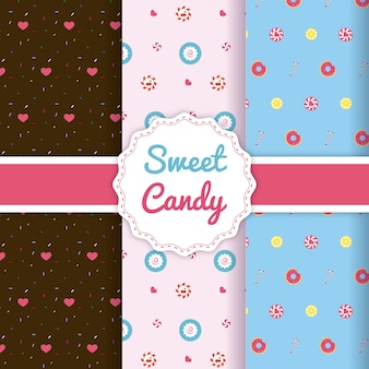 Sweet candy love pattern