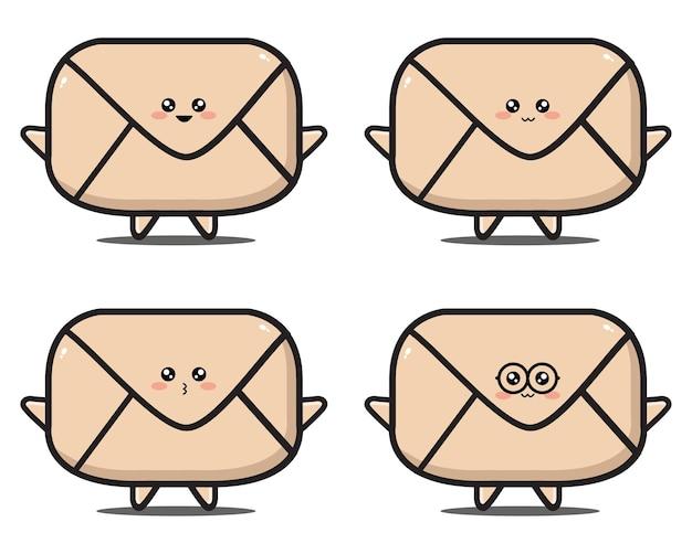 甘い漫画の手紙カワイイデザインプレミアム