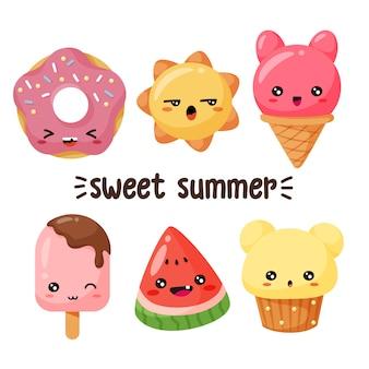 Sweet characters