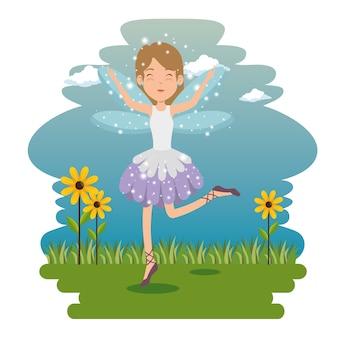 Sweet and cute fairy