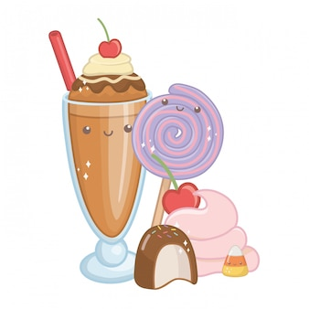 Sweet and delicious food