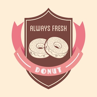 Sweet donuts badge