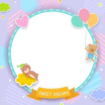 Sweet dreams pupple