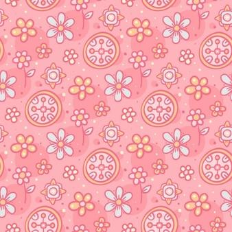 Sweet floral pattern