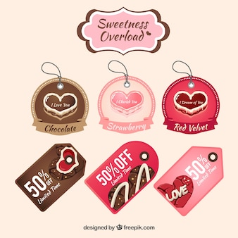 Tag collezione sweet heart
