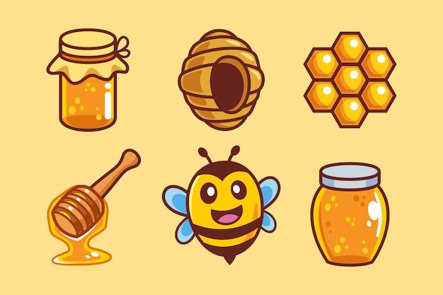 달콤한 꿀벌 만화 컬렉션