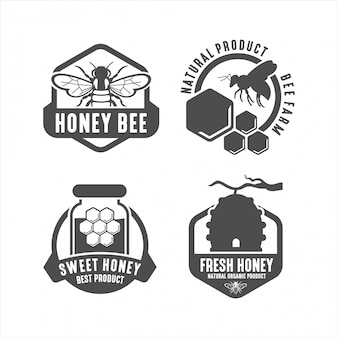 Sweet honey best product logo collections