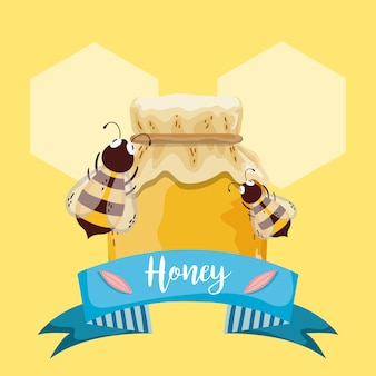 Sweet honey card