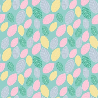 Sweet leaves background