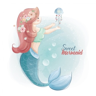 Sweet mermaid