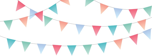 Sweet party pennants