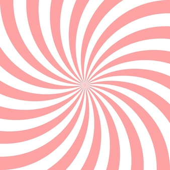Sweet pink candy abstract spiral background.