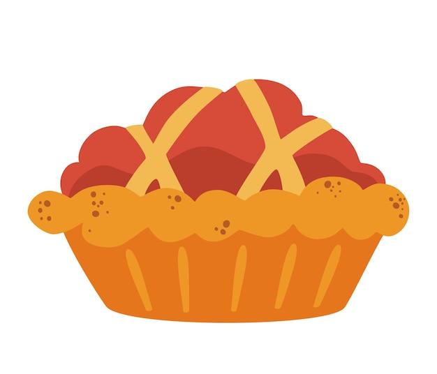 甘い伝統的なパイ。自家製ベーキング。伝統的な感謝祭の食事。クラシックなアメリカンスウィートパイ。
