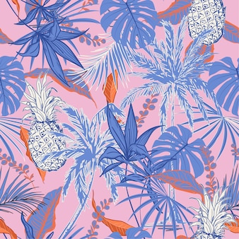 Sweet tropical pattern