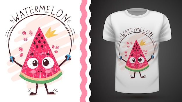 Sweet watermelon - idea for print t-shirt
