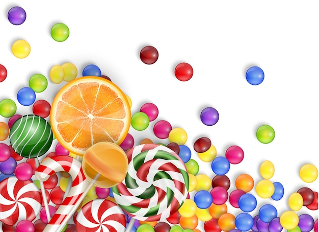 Sweets of candies