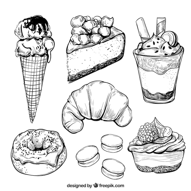 How To Draw A Sweets Free Download Oasis Dl Co