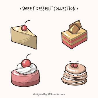 Конфеты для десертов в ручном стиле
