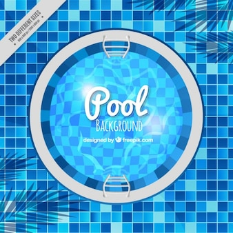 Swiming pool background