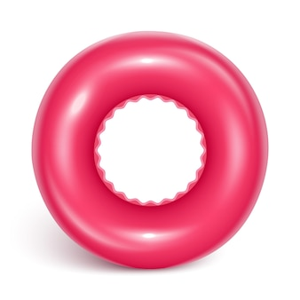 Swimming circle. inflatable rubber toy for child safety.