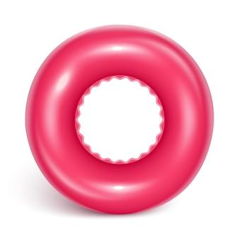 水泳サークル。子供の安全のための膨脹可能なゴム製おもちゃ。